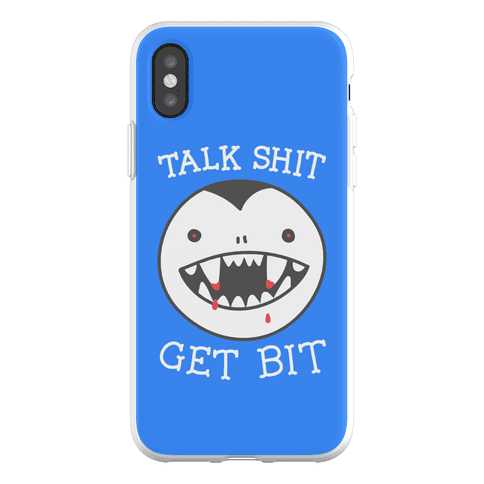 Talk Shit Get Bit Phone Flexi-Case
