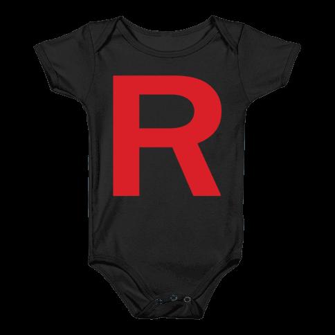 Team Rocket Baby Onesy