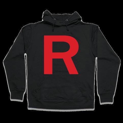 Team Rocket Hooded Sweatshirt