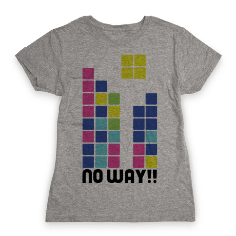 No Way Futaba Womens T-Shirt