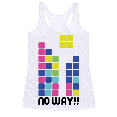 No Way Futaba Racerback Tank Top
