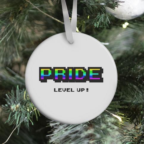 Pride Level Up! Ornament