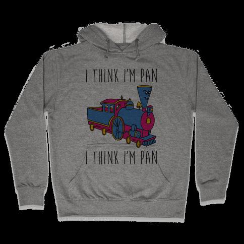 I Think I'm Pan Little Engine Hooded Sweatshirt