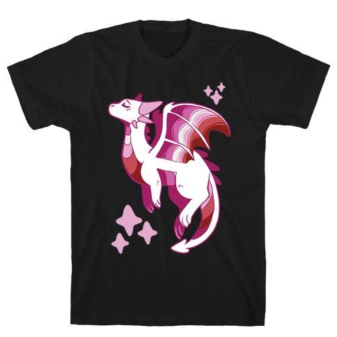 Lesbian Pride Dragon T-Shirt