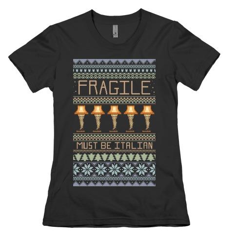 A Major Award Ugly Sweater Womens T-Shirt