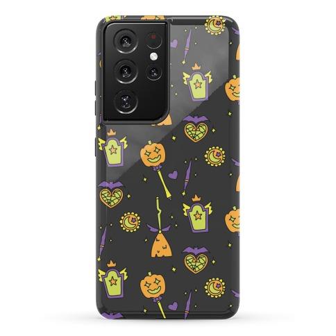 Halloween Magical Girl Pattern Phone Case
