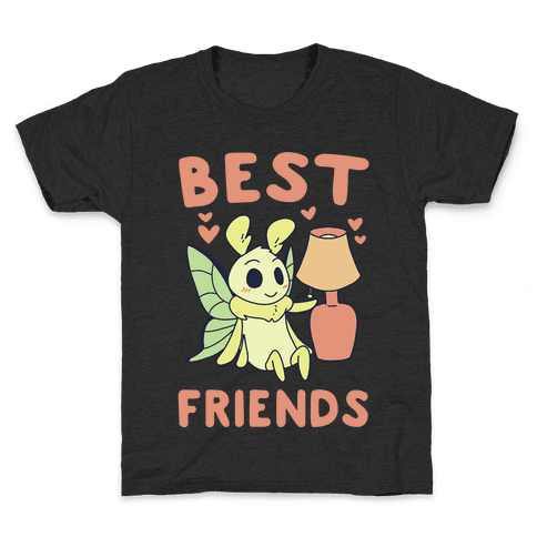 Best Friends - Moth and Lamp  Kids T-Shirt