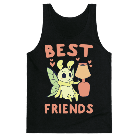 Best Friends - Moth and Lamp  Tank Top