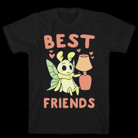 Best Friends - Moth and Lamp  Mens T-Shirt