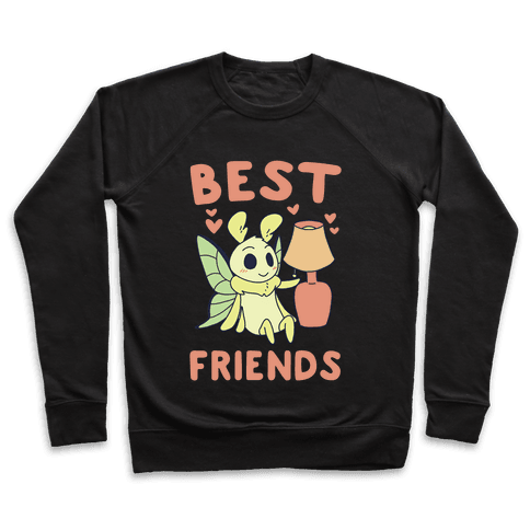 Best Friends - Moth and Lamp  Pullover
