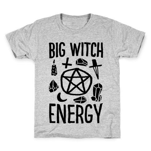 Big Witch Energy Kids T-Shirt