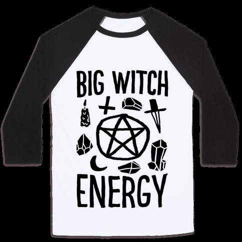 Big Witch Energy Baseball Tee