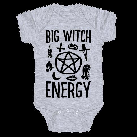 Big Witch Energy Baby Onesy