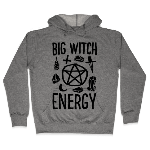 Big Witch Energy Hooded Sweatshirt