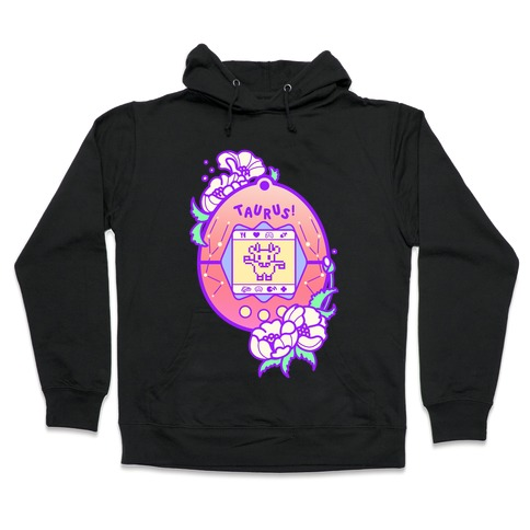 Taurus Digital Pet Parody Hooded Sweatshirt