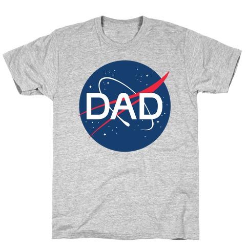 DAD Nasa Parody T-Shirt