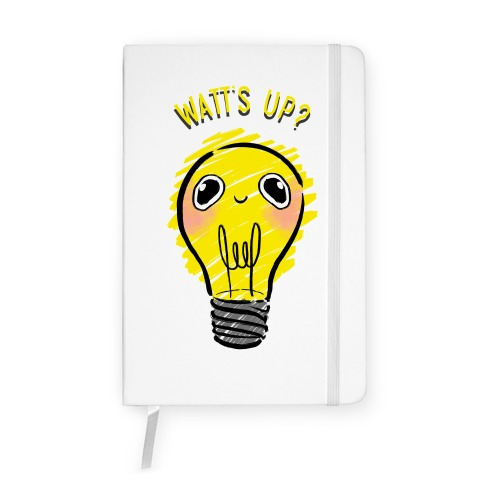 Watt's Up? Notebook