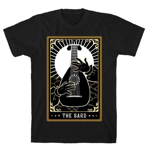 The Bard Tarot Card T-Shirt