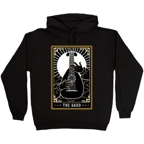 The Bard Tarot Card Hooded Sweatshirt