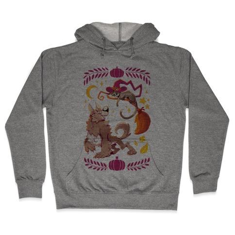 Wholesome Halloween Hooded Sweatshirt