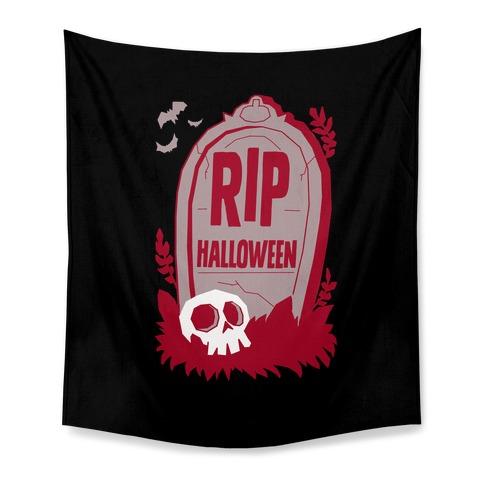 RIP Halloween Tapestry