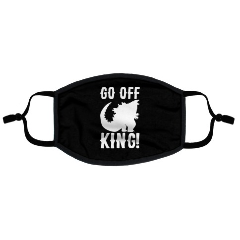 Go Off King Flat Face Mask