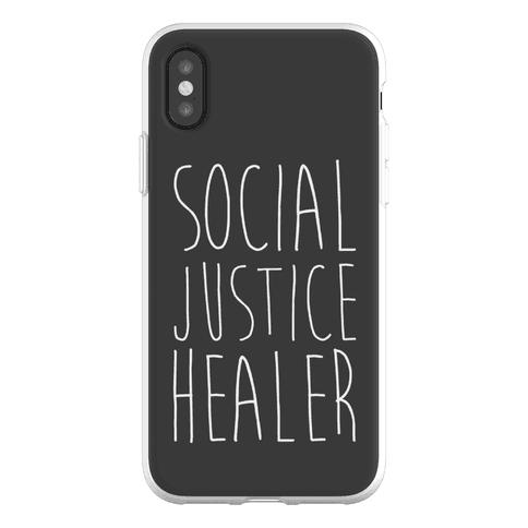 Social Justice Healer Phone Flexi-Case