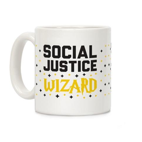 Social Justice Wizard Coffee Mug