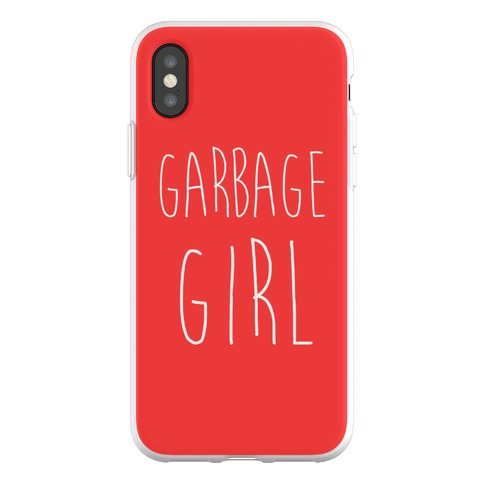 Garbage Girl Phone Flexi-Case