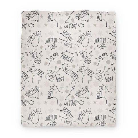 Asstrology Constellations Blanket