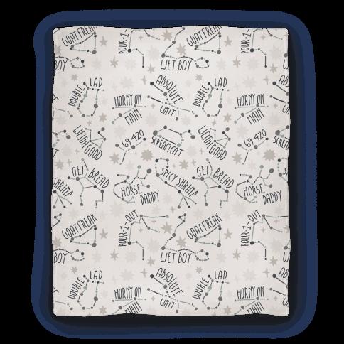 Asstrology Constellations Blanket