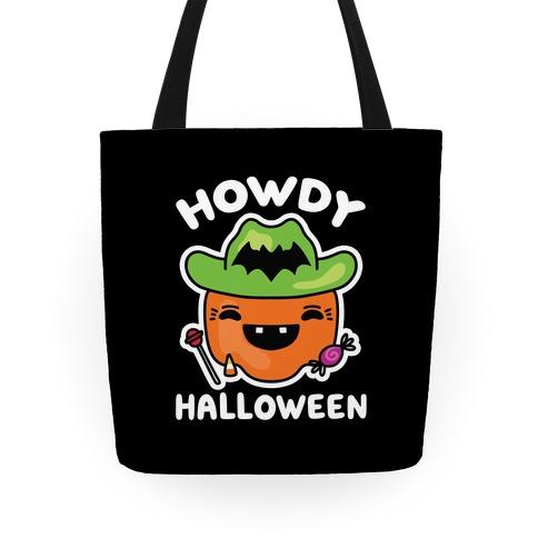Howdy Halloween Tote