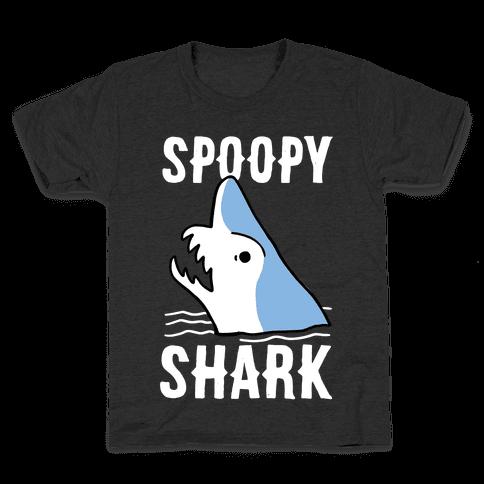 Spoopy Shark - Goblin Shark  Kids T-Shirt
