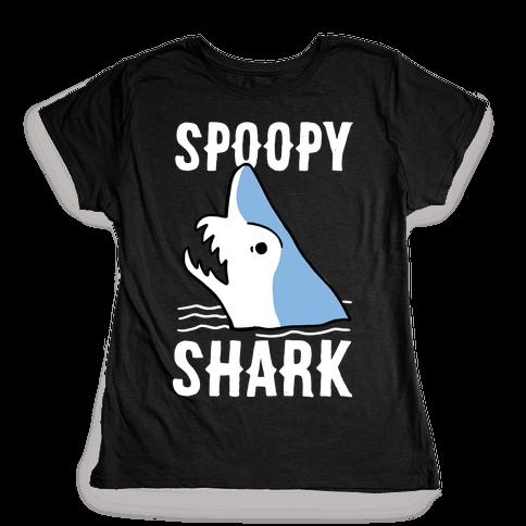 Spoopy Shark - Goblin Shark  Womens T-Shirt