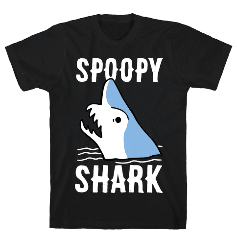 Spoopy Shark - Goblin Shark  Mens T-Shirt