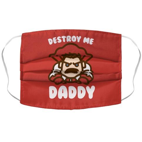 Destroy Me Daddy Parody Accordion Face Mask