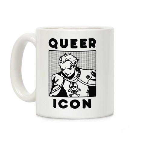 Queer Icon Kanji Coffee Mug