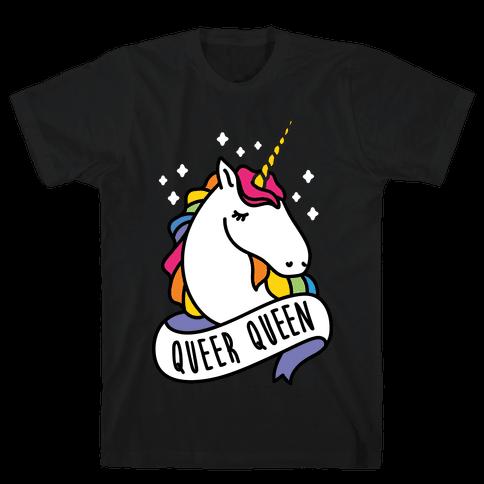 Queer Queen Mens T-Shirt