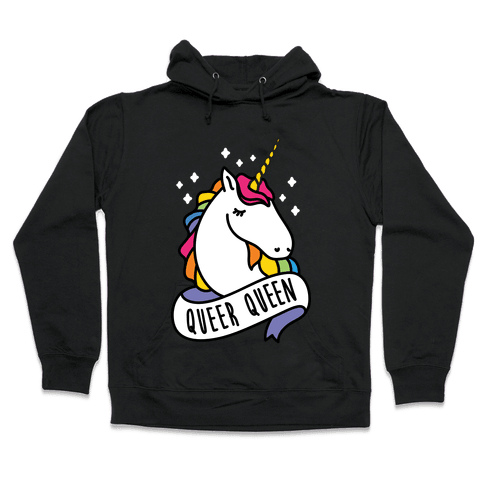 Queer Queen Hooded Sweatshirt