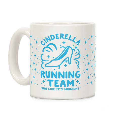 Cinderella Running Team Coffee Mug