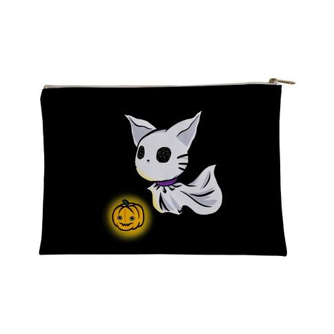 Ghost Cat Accessory Bag