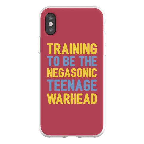 Training To Be The Negasonic Teenage Warhead Phone Flexi-Case