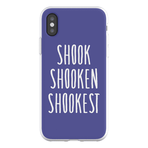 Shook Shooken Shookest Phone Flexi-Case