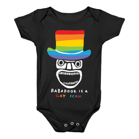 Babadook Is A Gay Icon Baby Onesy