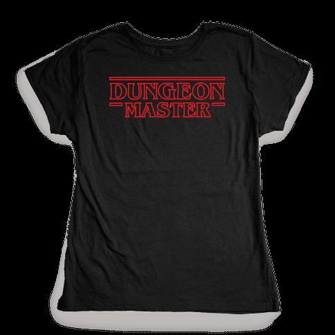 Dungeon Master Womens T-Shirt