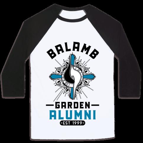 Balamb Garden Alumni Final Fantasy Parody Baseball Tee