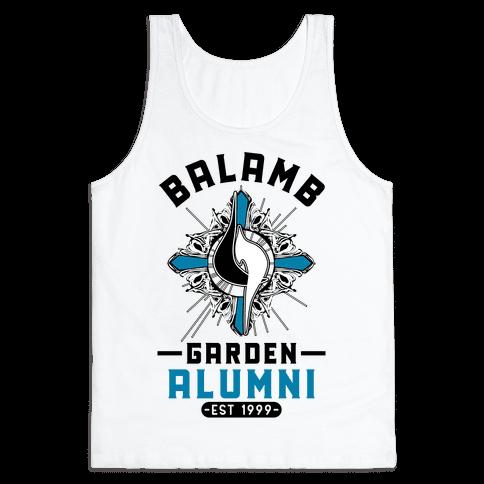 Balamb Garden Alumni Final Fantasy Parody Tank Top