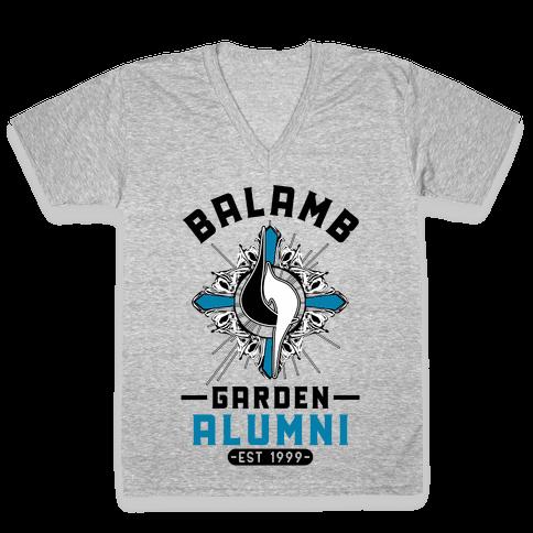 Balamb Garden Alumni Final Fantasy Parody V-Neck Tee Shirt
