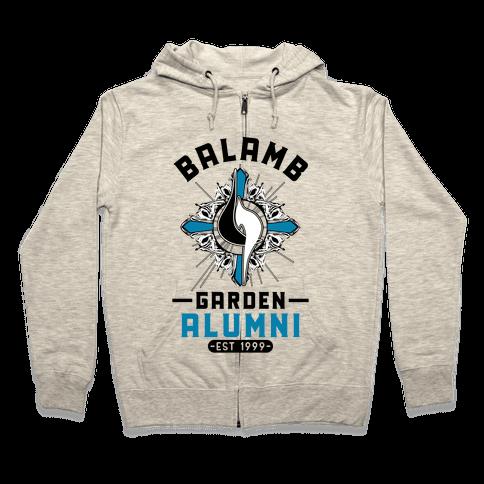 Balamb Garden Alumni Final Fantasy Parody Zip Hoodie