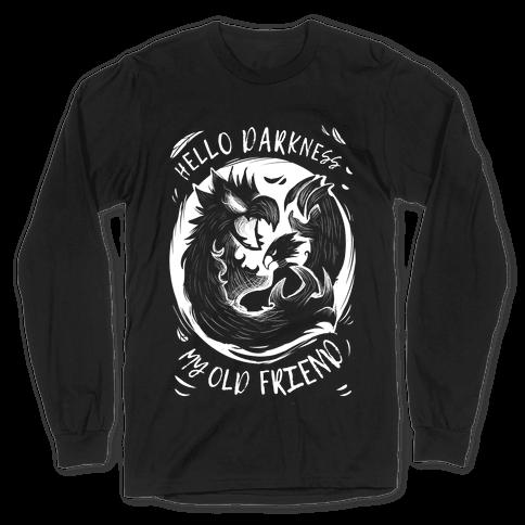 Takoyami Hello Darkness My Old Friend Long Sleeve T-Shirt